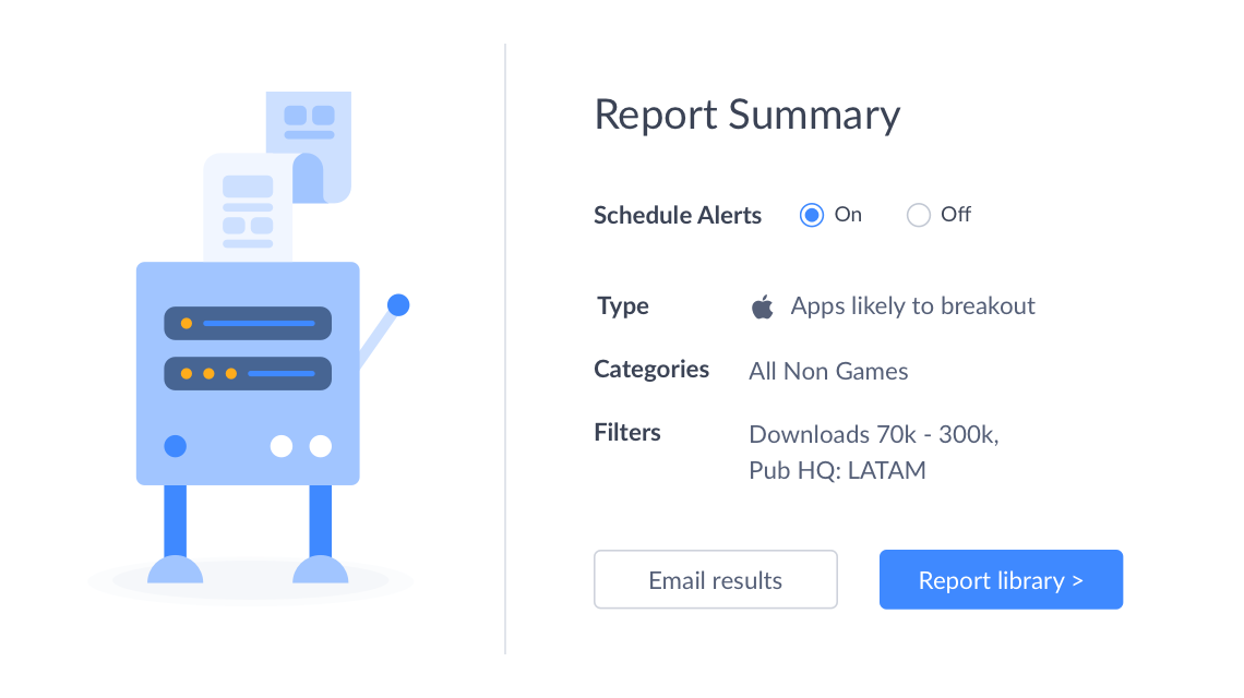 scale your sourcing efforts with custom reports and automated real-time alerts when new opportunities get added